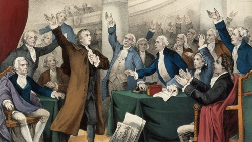Teaching Give Me Liberty Or Give Me Death (1775)