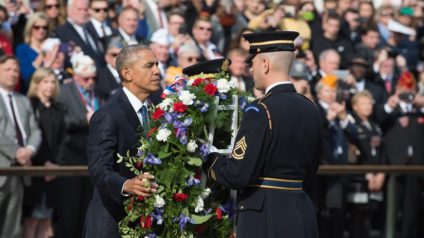 Teaching Remarks by the President at Veterans Day Commemoration Ceremony