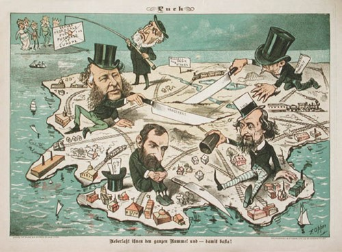 Teaching Monopolies of the early 20th century