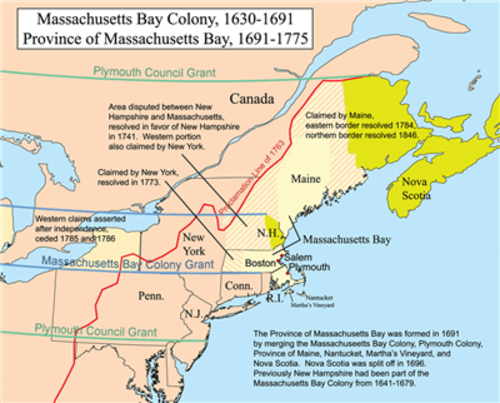 Settling the New England Colonies