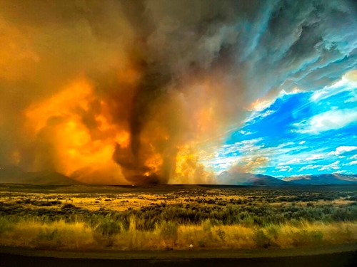 Teaching Extreme wildfires can create their own dangerous weather, including fire tornadoes — here's how