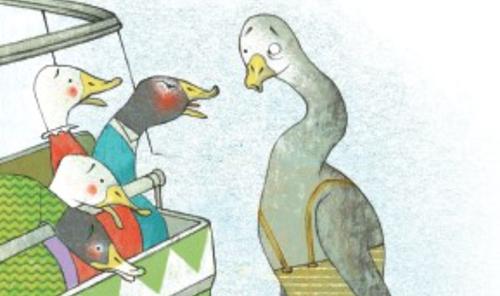 Teaching The Not-Very-Good-Looking Duck of Ocean View Park