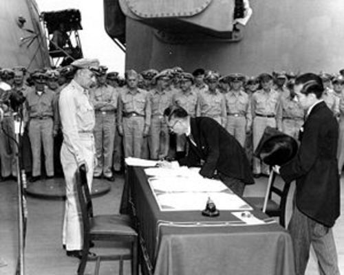 Transcript of Surrender of Japan (1945)
