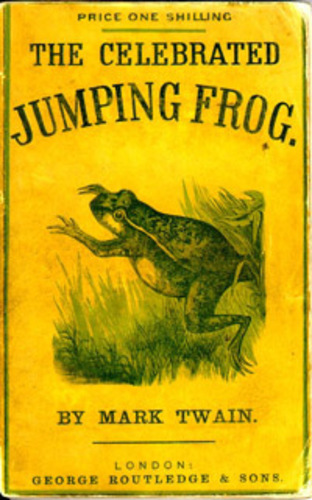 Teaching The Celebrated Jumping Frog of Calaveras County