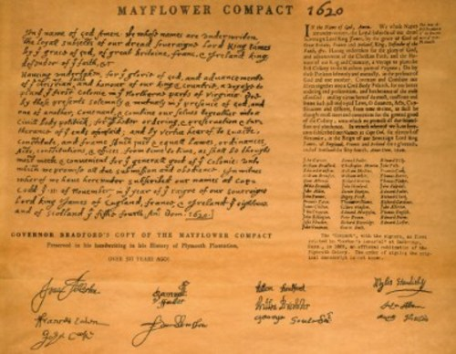 Teaching The Mayflower Compact
