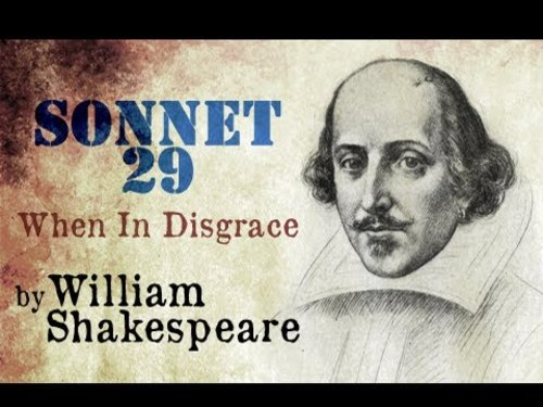 Teaching Sonnet 29