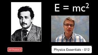 Teaching Mass-energy equivalency: E=mc^2 [video]