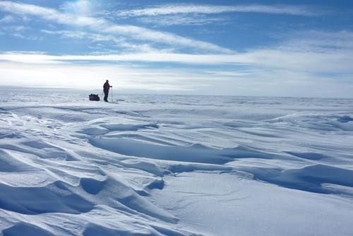 Teaching Crossing Antarctica on Her Own