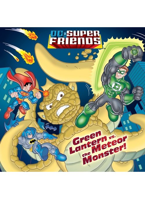 Green Lantern vs. the Meteor Monster! (DC Super Friends)