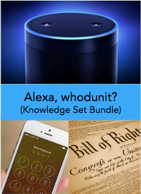 Teaching Alexa, whodunit?