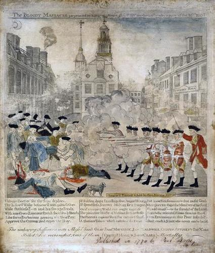 The Boston Massacre And Military Occupation