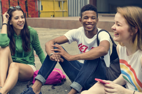 Teaching Young people value diversity, humor and honesty in their friendships