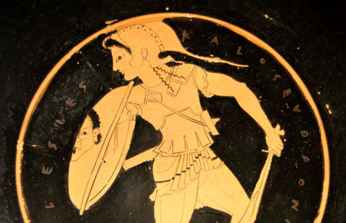 Teaching Greek mythic warrior women not purely imaginary