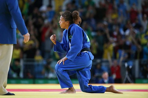 Judo champ's journey shines light on Afro-Brazilian plight
