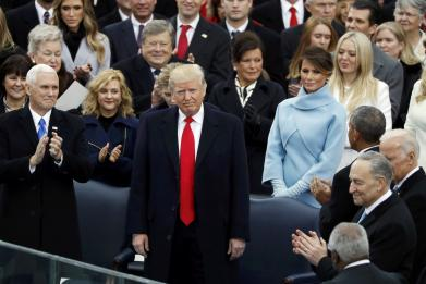 FULL TRANSCRIPT: Donald J. Trump's Inauguration Speech