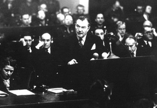 Opening Statement Of The Nuremberg Trials