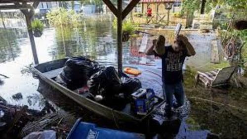 Louisiana residents journey down the river to find out: Did our house survive?