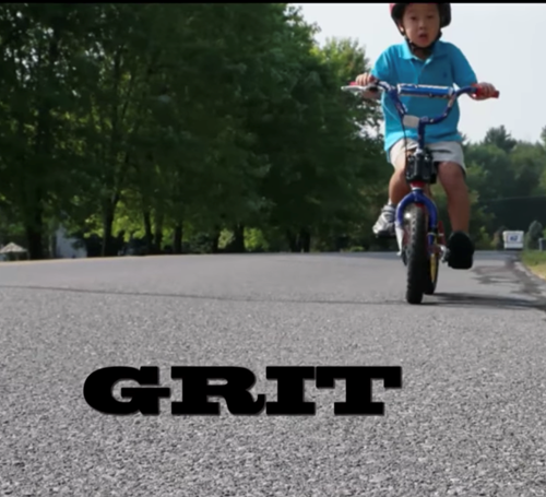 Teaching Using Grit to succeed in school [video]