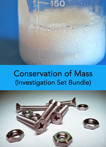 Teaching Conservation of mass