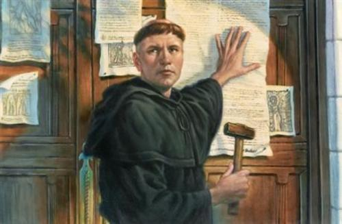 Teaching Martin Luther's 95 Theses