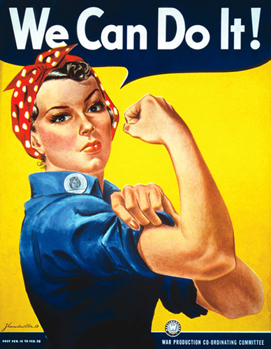 Teaching How One Rosie the Riveter Poster Became a Symbol of Female Empowerment