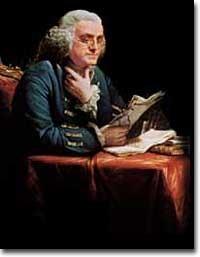 The ideas of Benjamin Franklin