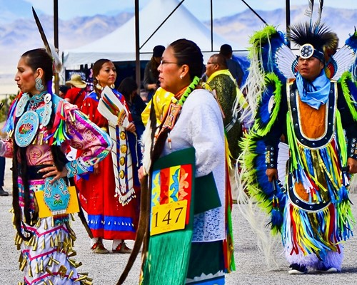 Teaching The Southern Paiute, standing strong