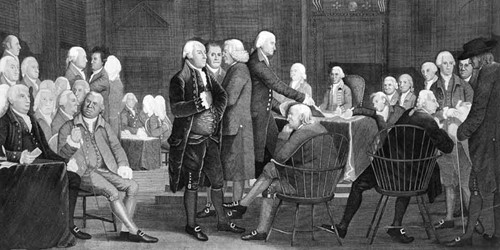 Philadelphia Convention: Constitution through compromise