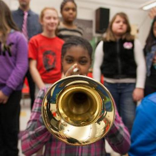 Low-Income Kids Thrive In Music Class
