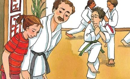 Teaching Karate IS for Girls!