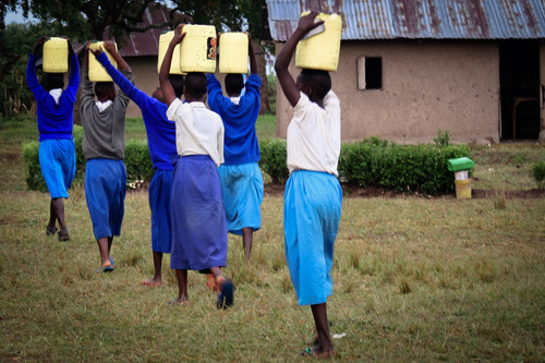 To empower women, give them better access to water