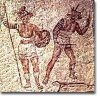 Gladiators, chariots, and the Roman Games