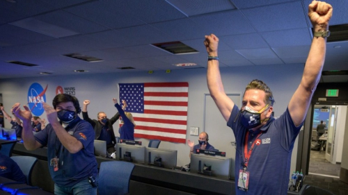 Teaching Mars Landing: Excitement Builds Over New Images From NASA Perseverance Rover