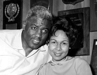 Teaching How Jackie Robinson's wife, Rachel, helped him break baseball's color line
