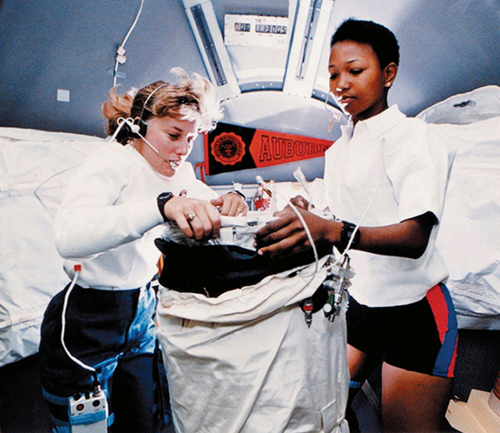 Teaching Women and Studying Space
