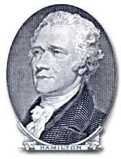 Teaching Hamilton's financial plan