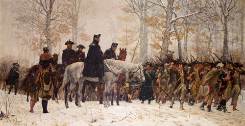 Teaching EXCERPT: Washington at Valley Forge (1778)