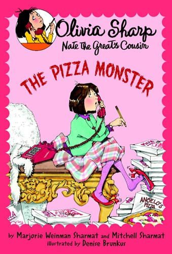 Olivia Sharp: The Pizza Monster