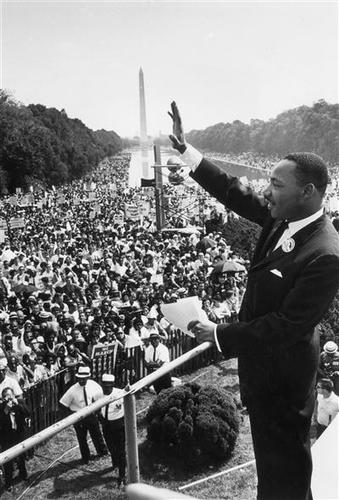Teaching I Have A Dream Address