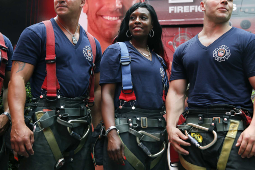 Teaching Female firefighters defy old ideas of who can be an American hero