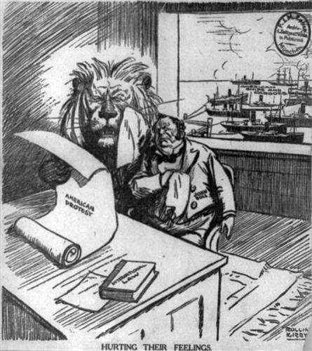 Maintaining U.S. neutrality (1914 - 1917)