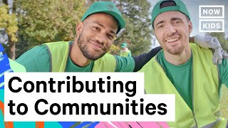 Teaching How to give back to our communities [video]