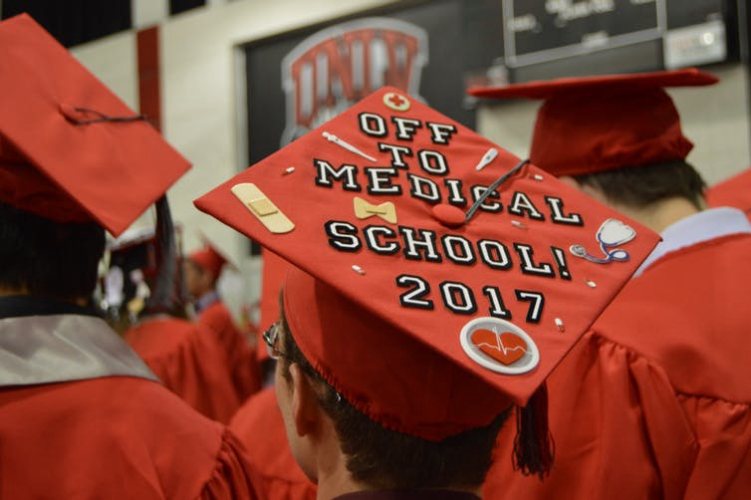 Teaching What can we learn from the way graduates are decorating their caps?