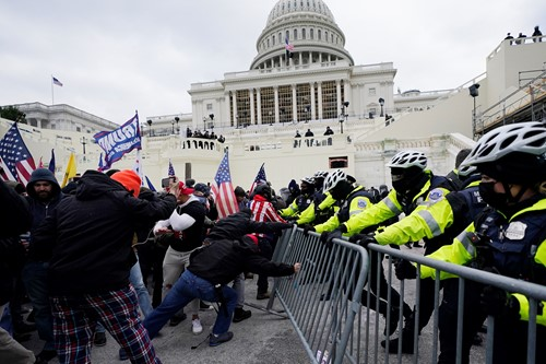 Teaching Pro-Trump mob storms US Capitol in attempt to overturn election