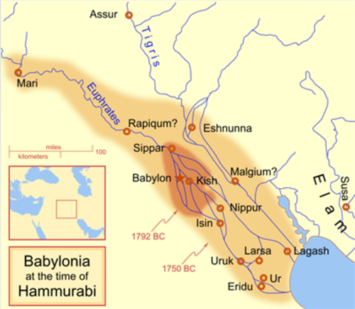Hammurabi and the First Babylonian Dynasty