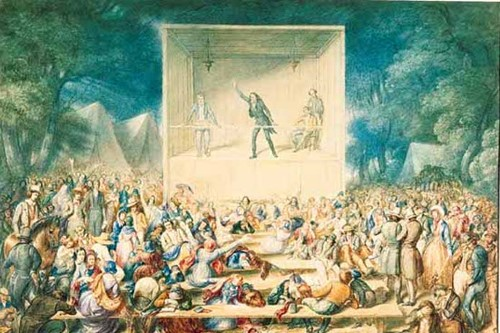 Religious Revival: Second Great Awakening