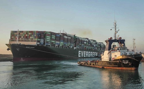 Teaching Giant Container Ship That Blocked Suez Canal Is Finally Free