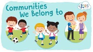 Teaching Types of Communities [video]