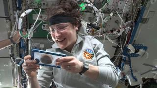 Teaching First cookies baked in space oven by astronauts