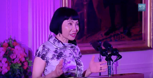 Teaching Amy Tan performs at the White House [video]